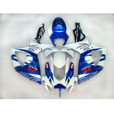 ASIA New Painted ABS Bodywork Fairing For Suzuki GSX R 600 750 K6 2006 2007 (L)