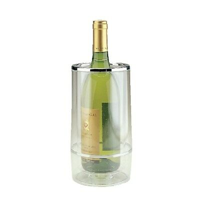 APS Wine Bottle Cooler - Clear Acrylic Champagne Liquor Drinks Display Chiller