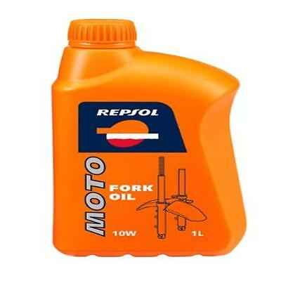 Repsol Moto Fork Oil 10W Motorcycle Fork Oil 1 L Vehicle Parts & Accessories New