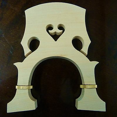 adjustable DOUBLE BASS - UPRIGHT CONTREBASSE bridge 1/2 size maple  UK SELLER
