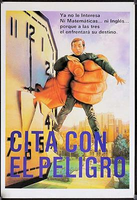 F044  Cita con el Peligro, Mexican Movie Lobby Card