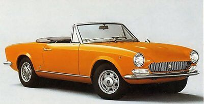 Manuale Officina Fiat 124 Spider 1966 1985 Workshop Manual Service