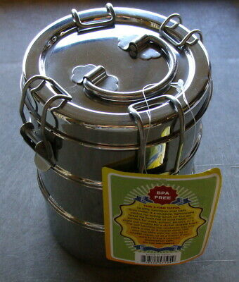 To Go Ware 3-Tier Stainless Steel Tiffin