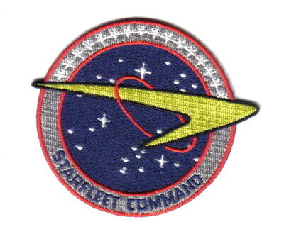 Star Trek Enterprise TV Series Starfleet Command Embroidered Patch, NEW UNUSED