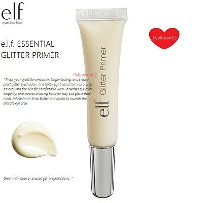 ELF e.l.f. Essential Eye Glitter Primer Sheer Full Size NEW 10.5mL #21611