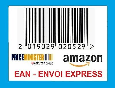 500 UPC Barcodes EAN code Bar code Numbers Amazon cdiscount pricemister EXPRESS