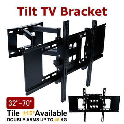 LCD LED 32 40 42 46 50 52 55 60 62 63 64 65 TV Wall Mount Swivel Bracket