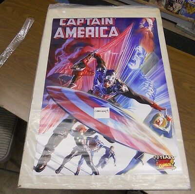 CAPTAIN AMERICA #600 POSTER art by Alex Ross FREE SHIPPING