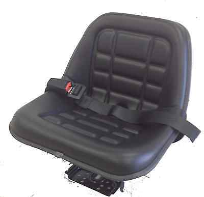 Tractor Seat  - Made in ITALY- OEM High Standard  Quality- seatbelt - Bobcat