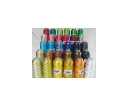 Machine Embroidery Thread X-Lg 6000 Yard Cones Rayon #40 New SELECT YOUR COLOR!