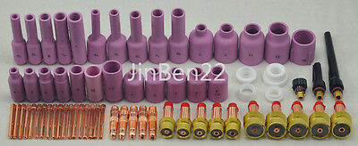 TIG Consumables Kit Gas lens recommended Fit SR WP17 18 26,67PK