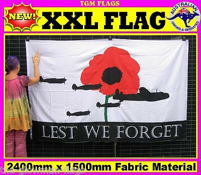 lest we forget flag for house wall pole sports event man woman cave
