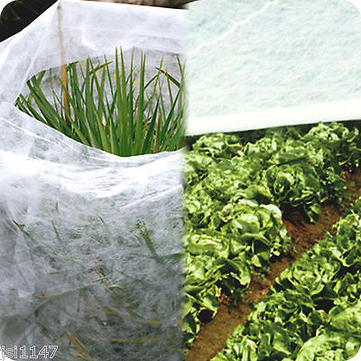 WHITE PLANT FROST AND INSECT PROTECTION GARDEN FLEECE 1.5m x 8m F.U.M. TOOLS FUM