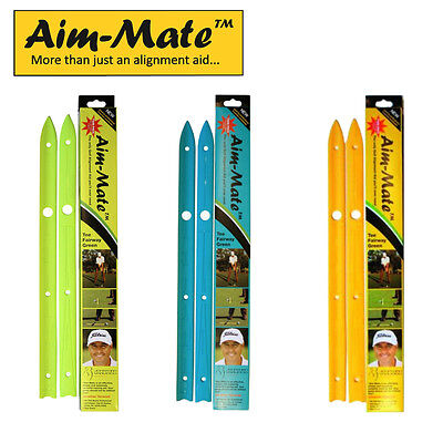 Aim-Mate Golf Alignment Aid- Aim Straight Alignment Aid-New.