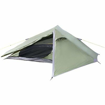 Yellowstone Tent Matterhorn 1 Man Person Green Camping Festival 1.5Kg Light Easy