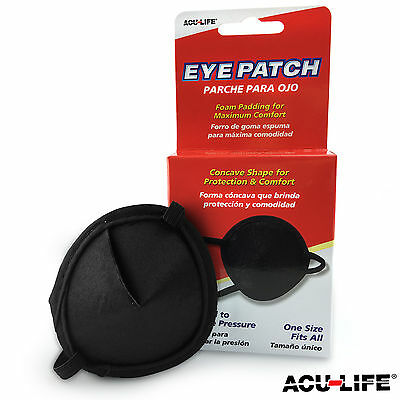 Acu-Life Eye Patch Concave For Eye Protection, Medical Use Foam Padded Acu Life