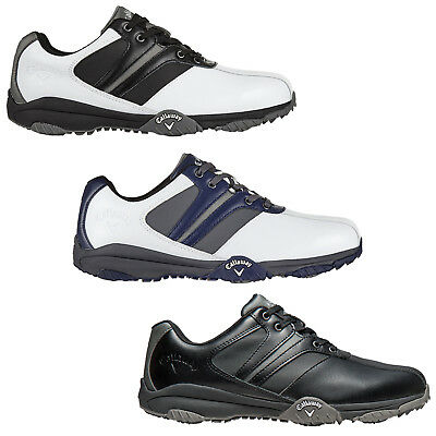 2016 Callaway Mens Chev Series Comfort 2 Ii Golf Shoes - New Waterproof Leather