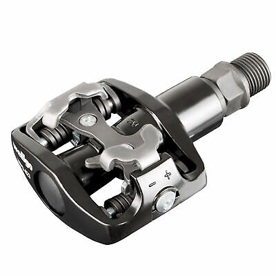 Wellgo Mountain Bike Shimano SPD Compatible Clipless Pedals with Cleats