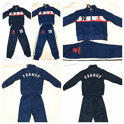 BOYS FRANCE TRACKSUIT SET- Ages 4 years to 14 Years