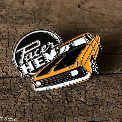 Chrysler Valiant Hemi Pacer Badge Pin