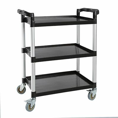 Vogue Polypropylene Mobile Trolley Cart Hotels Restaurant Kitchen Dolly Truck