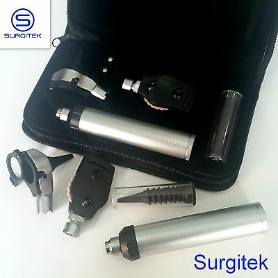 F.O Otoscope Ophthalmoscope Opthalmoscope ENT Diagnostic Examination Set UK