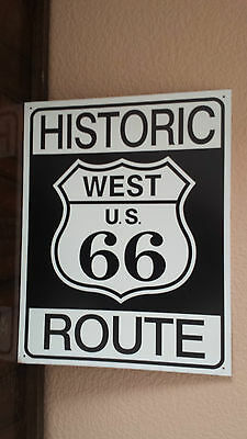 Route 66 Metal Sign Great Condition Never Mounted