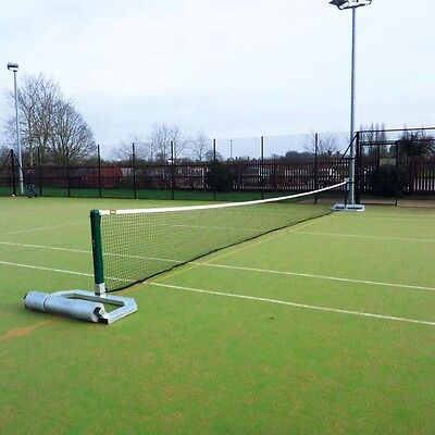 Freestanding Self Weighted Wheeled Tennis Posts – Steel
