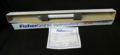 Fisherbrand * FISHER * HYDROMETER * (NEW in the BOX) * 11-522D * 1.00-2.00