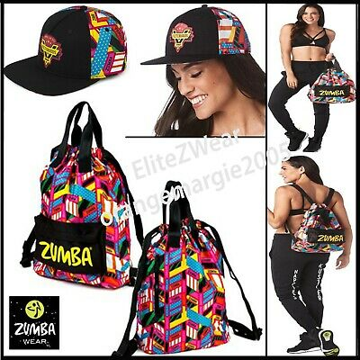 Zumba Tote Bag London Love Bowler U.K Harrods & Convention*Gym*Purse*$184 Retail
