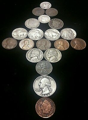 SILVER .. Pre - 1964 Old Coins in Every Lot - Silver Quarters, Dimes & Nickels