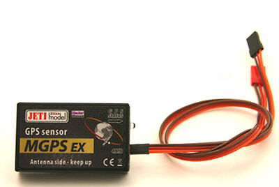 Jeti DUPLEX 2.4 EX GHz MGPS Flight tracking Flight data 80001314