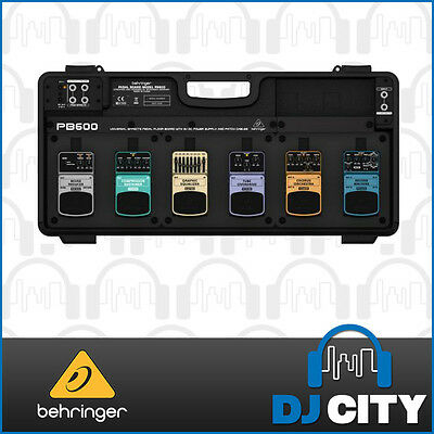 Behringer PB600 Pedalboard with Power Supply