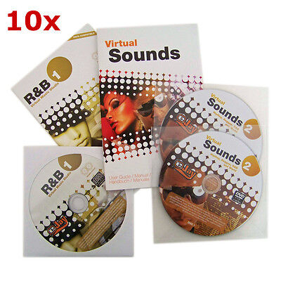 Posten 10 Stück - eJay R&B 1 Special Edition - Virtual Music Studio - NEU