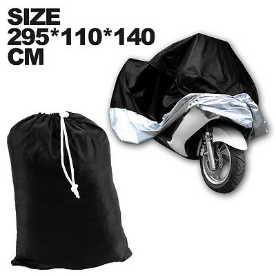XXXL Motorcycle Waterproof Outdoor Vented Motor Bike Scooter Dust Rain Cover