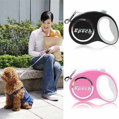 5M Automatic Pet Dog Puppy Retractable Leash Special Walking Lead Traction Rope