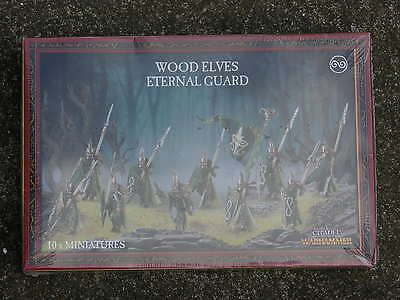 Warhammer Wood Elf, Eternal Guard Box Set, Bnib