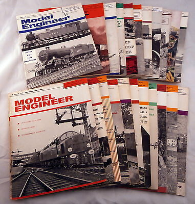 Model Engineer Magazine 1966 Complete Volume 132 (24 issues in total)