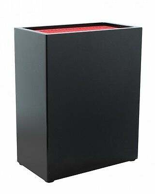 Black Red Grunwerg Universal Kitchen Knife Storage Block Holds 20 Knives Holder