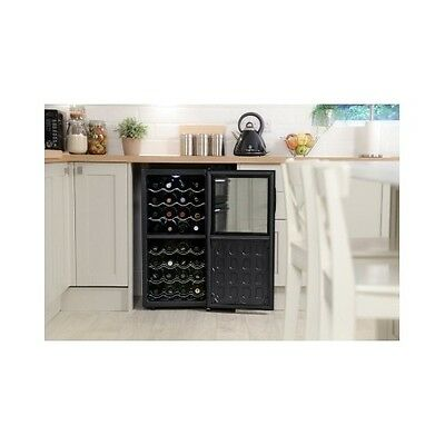 Under Counter Wine Cooler/Drinks Fridge Russell Hobbs Mini Compact Refridgerator