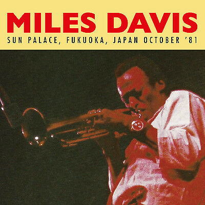 MILES DAVIS - Sun Palace, Fukuoka, Japan October '81. New 2LP + sealed ** NEW **