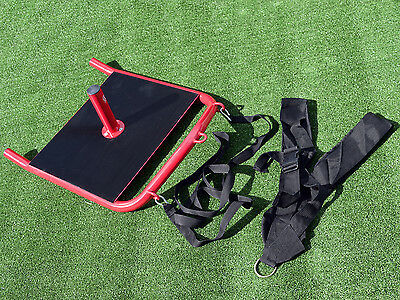 Fxr Sports Power Gym Sled Crossfit Rugby Fitness Athletics Prowler With Harness