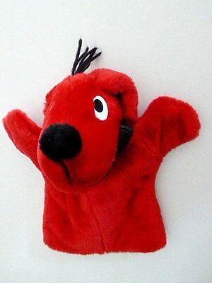 Clifford The Big Red Dog Plush Hand Puppet Scholastic Nwot