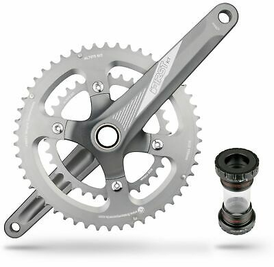 FIRST Road Bike Bicycle Crankset For Shimano 10 or 11 Speed 50-34 175mm