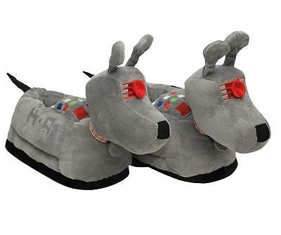 Doctor Who K-9 Ladies Plush Slippers Size S/M