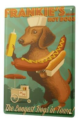 Tin Sign Breed Dachshund