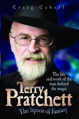 Terry Pratchett __ THE SPIRIT OF FANTASY__BRANDNEU__Werbeantwort UK