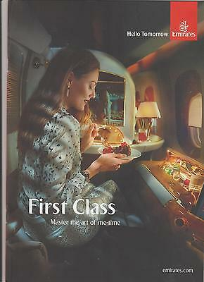 Brochure Emirates First Class Master the art of me-time