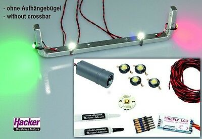 Hacker Para RC Beleuchtungs-Set 67008090 LED Light Set + Battery 1800mAh 1S