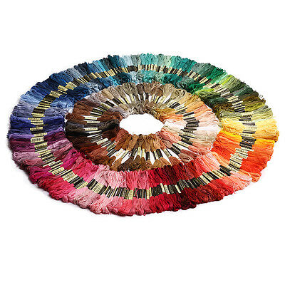250 Anchor Cross Stitch Embroidery Thread Floss 100% Cotton Thread Multi-colors